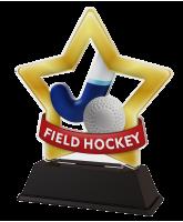 Mini Star Field Hockey Trophy
