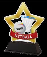 Mini Star Netball Trophy