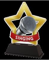 Mini Star Singing Trophy