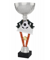 Napoli Indoor 5-A-Side Football Silver Cup Trophy