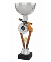 Napoli Pistol Shooting Silver Cup Trophy