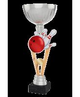 Napoli Ten Pin Bowling Silver Cup Trophy