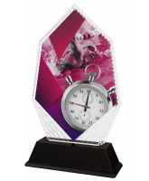 Cleo Female Swimming Stopwatch Trophy