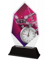 Cleo Male Swimming Stopwatch Trophy