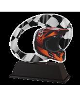 Palermo Motorbike Helmet Trophy