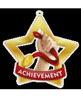 Achievement Mini Star Gold Medal