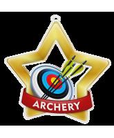 Archery Mini Star Gold Medal