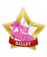 Ballet Dance Mini Star Gold Medal