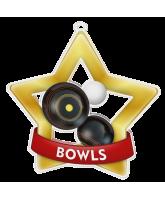 Bowls Mini Star Gold Medal