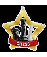 Chess Mini Star Gold Medal