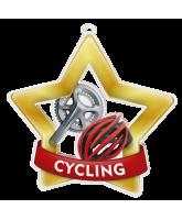 Cycling Mini Star Gold Medal