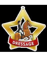 Dressage Mini Star Gold Medal