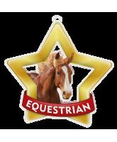 Equestrian Mini Star Gold Medal