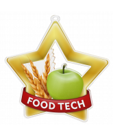 Food Tech Mini Star Gold Medal
