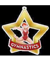 Gymnastics Girls Mini Star Gold Medal