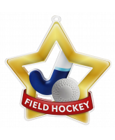 Hockey Mini Star Gold Medal