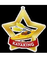 Kayaking Mini Star Gold Medal