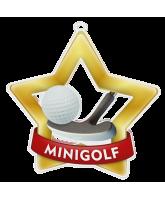 Mini Golf Mini Star Gold Medal
