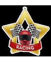 Motor Racing Mini Star Gold Medal