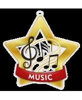 Music Mini Star Gold Medal
