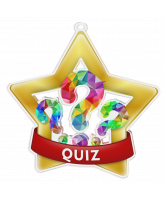 Quiz Mini Star Gold Medal