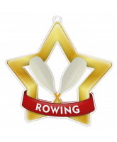 Rowing Mini Star Gold Medal