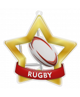 Rugby Mini Star Gold Medal