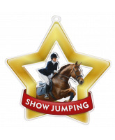 Show Jumping Mini Star Gold Medal