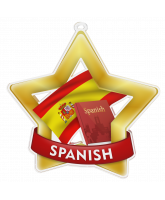Spanish Studies Mini Star Gold Medal