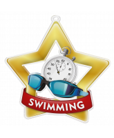 Swimming Mini Star Gold Medal