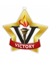 Victory Gold Mini Star Medal
