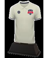 Cricket Custom White Shirt Acrylic Trophy