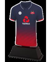 Cricket Custom Colour Shirt Acrylic Trophy