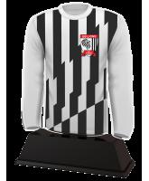 Football Custom Long Sleeve Shirt Acrylic Trophy