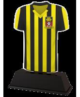 Football Custom Short Sleeve Shirt Acrylic Trophy
