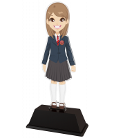 Girls School Uniform Custom Acrylic Award