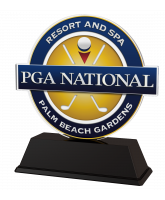 Golf Custom Club Logo Acrylic Award