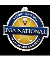 Golf Custom Club Logo Acrylic Medal