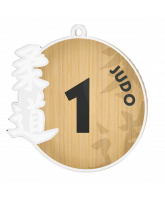 Judo 1st Place Medal