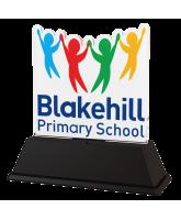 School Logo Custom Acrylic Award