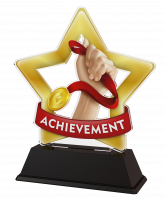 Mini Star Achievement Medal Trophy