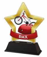 Mini Star BMX Bike Trophy