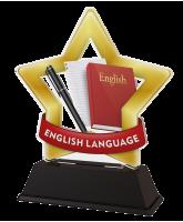 Mini Star English Language Trophy