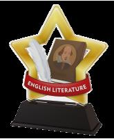 Mini Star English Literature Trophy
