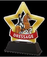 Mini Star Equestrian Dressage Trophy