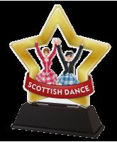 Mini Star Scottish Dance Trophy