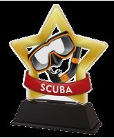 Mini Star Scuba Diving Trophy