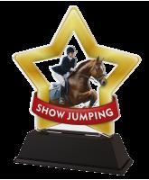 Mini Star Show Jumping Trophy