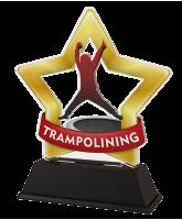 Mini Star Trampolining Trophy