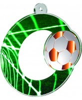 Rio Gold Football Medal
